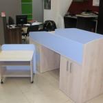 Кровать детская с выдвижным столом