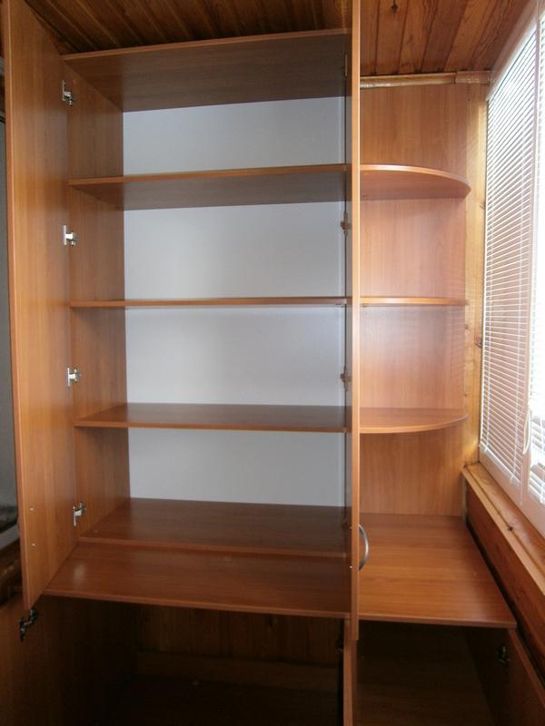 Шкафы на лоджию компания оникс.
