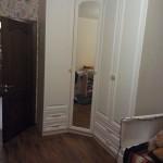 Шкаф угловой ЛДСП Ламарти Белый Премиум, фасады МДФ Белый матовый